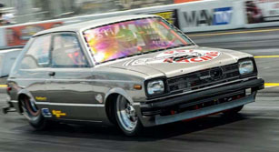 PSI Racing's 7-second Starlet