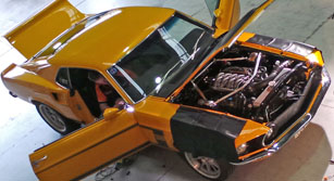 1969 Mustang EFI conversion