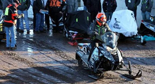 UMD at the Clean Snowmobile Challenge