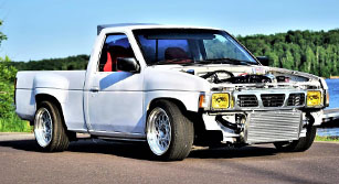Diamond in the Rough: Auston's RB25 powered Nissan Navara
