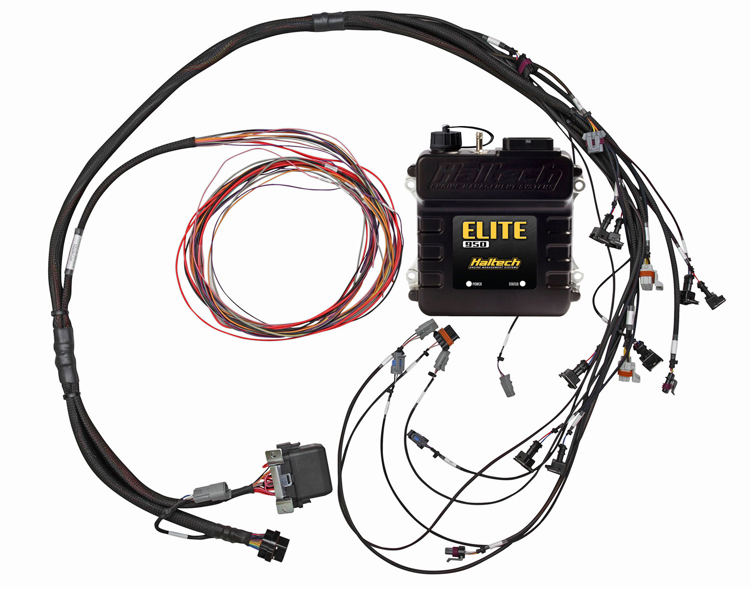 elite 950 ecu + ls1/ls6 terminated engine harness kit