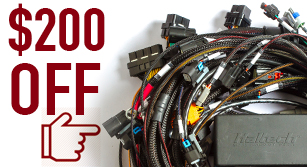 $200 Off All Elite 2500 Terminated Engine Harness Kits