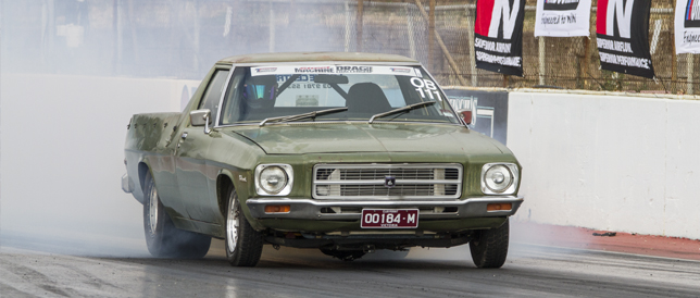 Tales from the Drag Challenge – Rod Browitt's Ute
