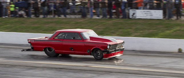 Trackside: Boddie's 4500hp twin-turbo Hemi Nova