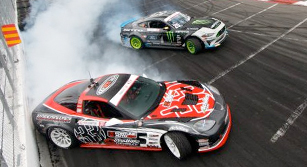 Dirk Stratton and Kyle Mohan at Formula Drift – Long Beach California