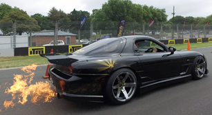 Bevan's Black Beauty RX-7FD