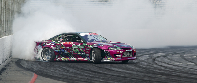 Trackside: Formula Drift – Long Beach