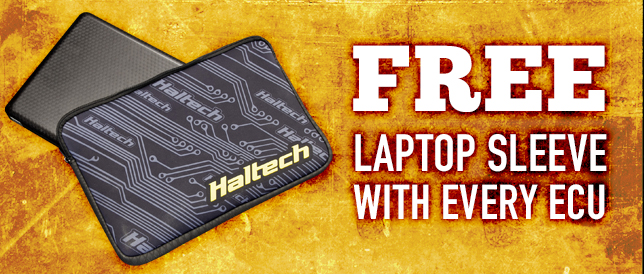FREE laptop sleeve with every ECU sold this month!